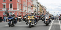 St.Petersburg Harley Days и фестиваль