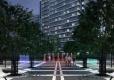 В Мурино началось строительство фонтанного комплекса с разноцветной подсветкой