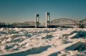 Росприроднадзор: вода в Неве не замерзла в мороз из-за сточных вод